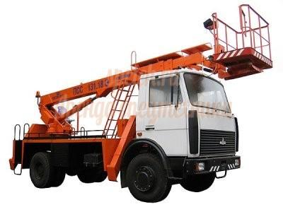 Автовышка МАЗ 5337